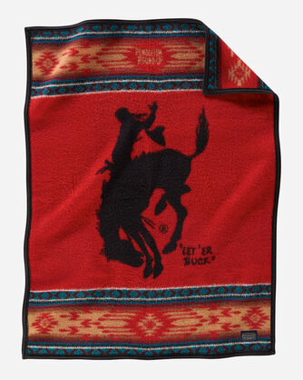 PENDLETON ROUND-UP COLLECTIBLE BLANKET IN ROUND-UP RED
