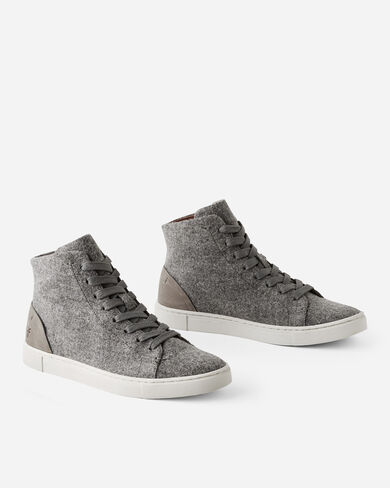 IVY HIGH TOP SNEAKERS, GREY, large