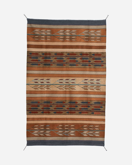 FEATHERS RUG IN BROWN MULTI