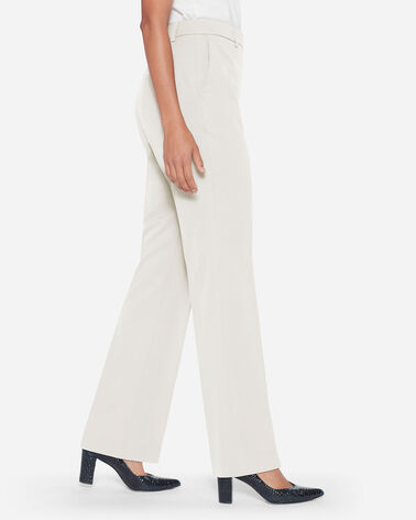 ADDITIONAL VIEW OF SEASONLESS WOOL LINED STRAIGHT LEG PANTS IN IVORY