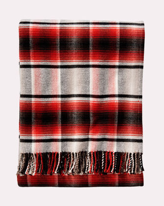 PLAID THROW, , large