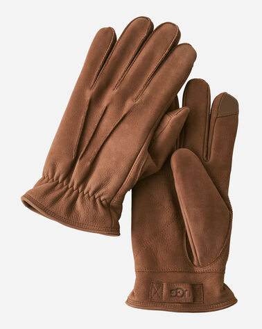 MEN'S UGG 3-POINT LEATHER GLOVES