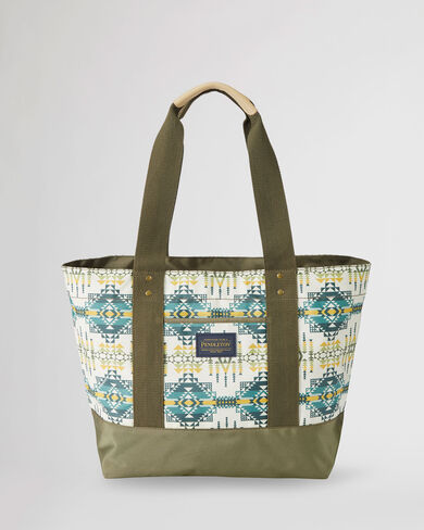 PILOT ROCK CANOPY CANVAS TOTE IN OLIVE