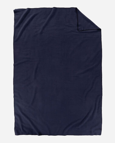 ADDITIONAL VIEW OF ECO-WISE WOOL SOLID BLANKET IN MIDNIGHT NAVY