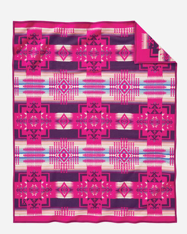 CHIEF JOSEPH BLANKET, CHERRY, large