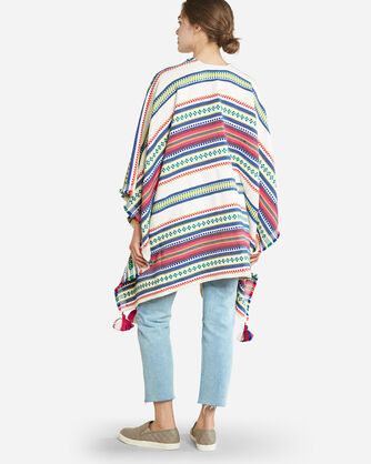 ADDITIONAL VIEW OF PALOMA STRIPE WRAP IN BRIGHT STRIPE