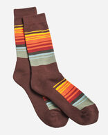 NATIONAL PARK STRIPE CREW SOCKS IN GREAT SMOKEY MOUNTAINS
