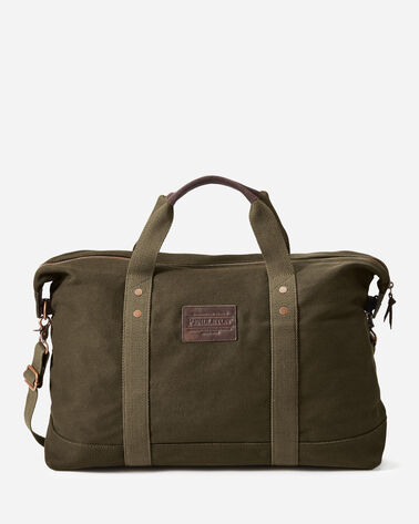 ADDITIONAL VIEW OF SHELTER BAY WEEKENDER BAG IN BROWN