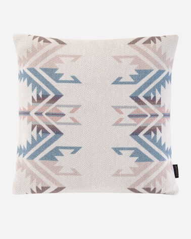WHITE SANDS PRINTED PILLOW, WHITE MULTI, large