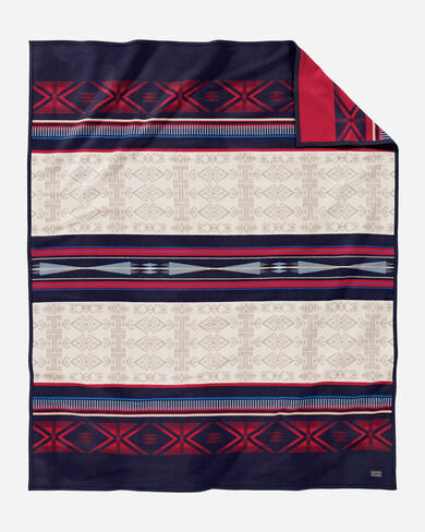 BIGHORN BLANKET, IVORY MULTI, large