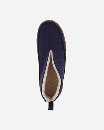 ALTERNATE VIEW OF WOMEN'S MOUNTAIN MID SLIPPERS IN NAVY HEATHER