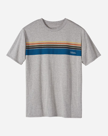 MEN'S NATIONAL PARK STRIPE TEE, OLYMPIC GREY, large