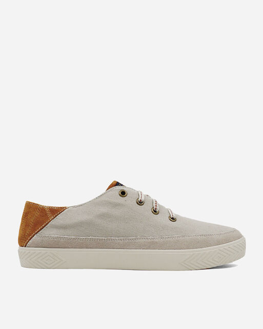 MEN'S PINOLE BLUFF CANVAS SNEAKERS IN FEATHER