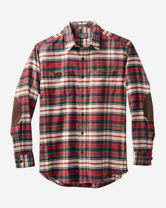MEN'S DOUBLE-BRUSHED HAWTHORNE FLANNEL SHIRT
