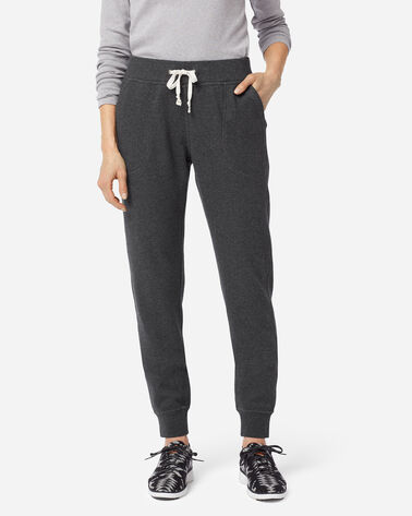 WOMEN'S JOGGER SWEATPANTS, CHARCOAL HEATHER, large