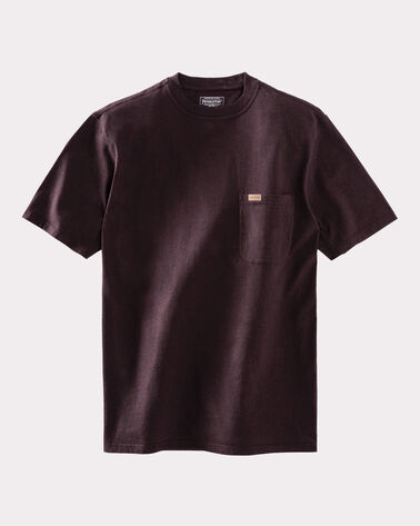 DESCHUTES SHORT-SLEEVE TEE, SMOKED BROWN HEATHER, large