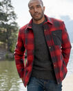 ADDITIONAL VIEW OF MEN'S CONWAY ACCENT POCKET JACKET IN RED OMBRE