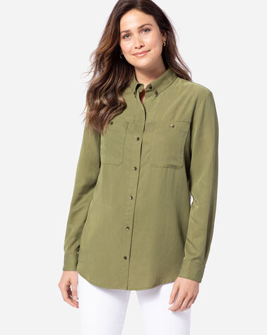 WOMEN'S LONG-SLEEVE MEDALLION SHIRT