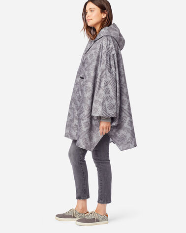NOVA CROSS RAIN PONCHO IN GREY