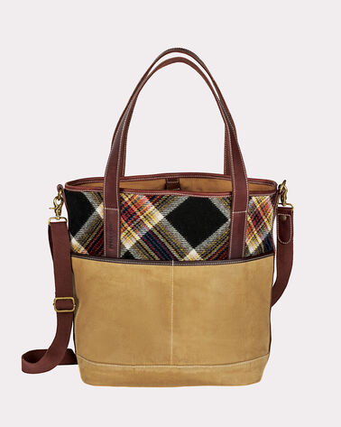ACADIA TOTE BAG, ACADIA PLAID, large