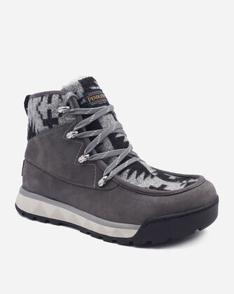 ALTERNATE VIEW OF WOMEN'S TORNGAT TRAIL LACE-UP BOOTS IN GREY/SPIDER ROCK