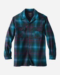 MEN'S BOARD SHIRT, BRIGHT BLUE OMBRE, large