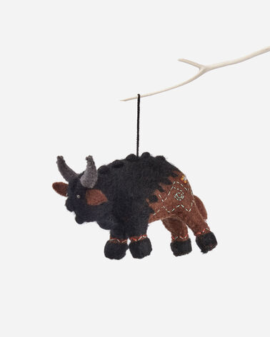 FOREST FRIENDS FELT ORNAMENTS IN BLACK