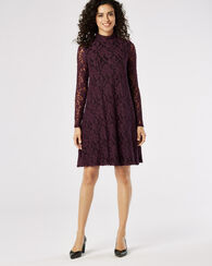 LACE CHELSEA DRESS, BORDEAUX, large