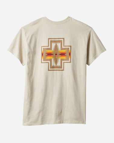ADDITIONAL VIEW OF MEN'S HARDING GRAPHIC TEE IN SAND