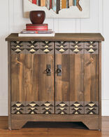 CARMEL NIGHTSTAND IN BLACK HEATHER