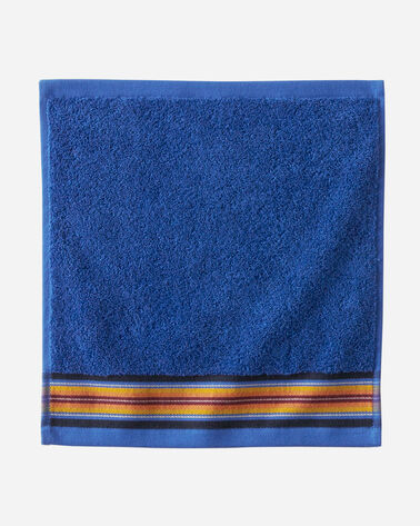 SERAPE WASH CLOTH IN BLUE