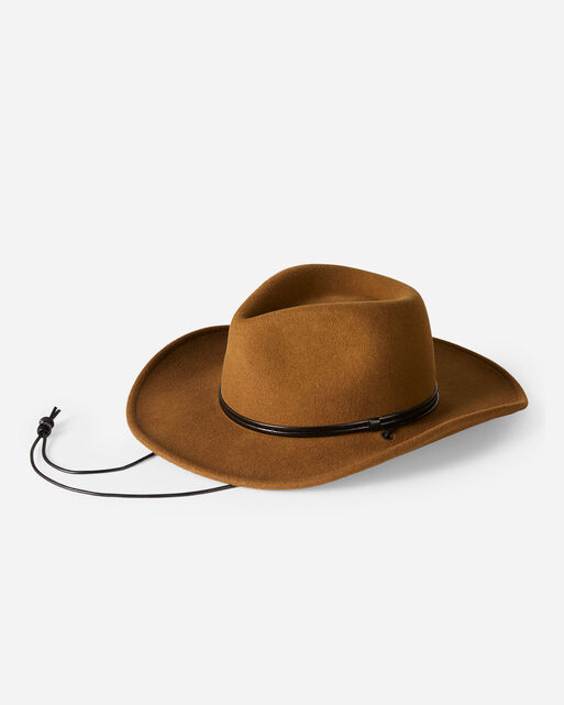CARINA HAT IN WHISKEY