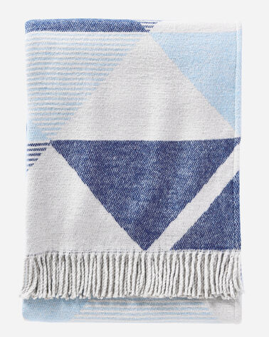 SERRADO THROW, BLUE, large