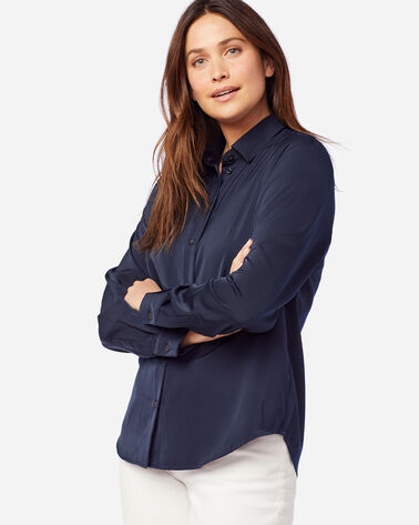 WOMEN'S SOFT BUTTON SHIRT