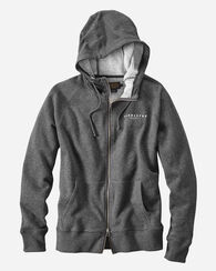 HOODIE SWEATSHIRT, CHARCOAL HEATHER, large