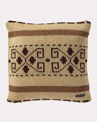 WESTERLEY KNIT PILLOW, TAN, large