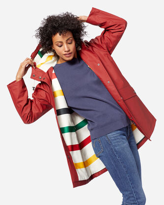 WOMEN'S ASTORIA JACKET IN RED