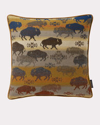 LAND OF THE BUFFALO PILLOW