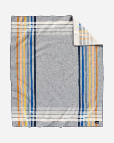 ADDITIONAL VIEW OF OSLO EVENING THROW IN GREY MULTI PLAID