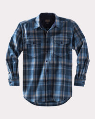 GUIDE SHIRT, INDIGO PLAID, large