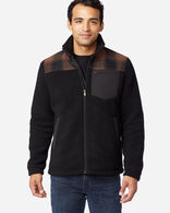 MEN'S BOZEMAN HYBRID ZIP JACKET IN BRONZE OMBRE