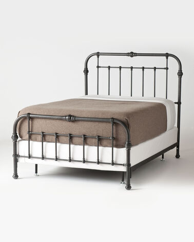 MATTHESON BED, GUNMETAL              D, large