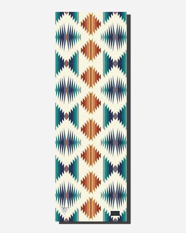 ALTERNATE VIEW OF PENDLETON FALCON SUNSET YOGA MAT IN FALCON SUNSET