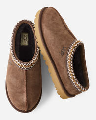 TASMAN BRAID COLLAR SLIPPERS, CHOCOLATE, large