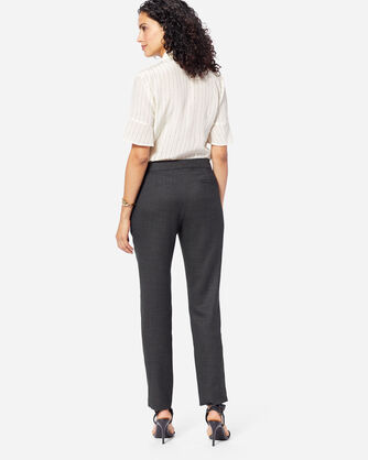 ADDITIONAL VIEW OF WOMEN'S CORBY WOOL PANTS IN BLACK