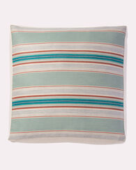 PENDLETON BY SUNBRELLA FLOOR CUSHION, AQUA SERAPE, large