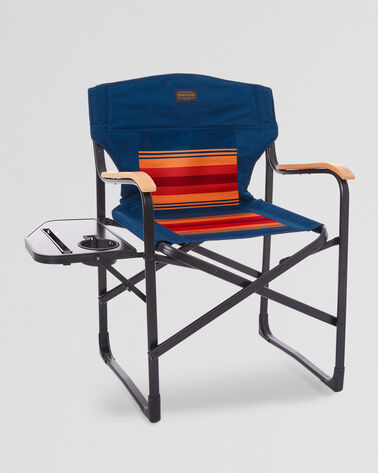 FOLDING CAMP CHAIR IN GRAND CANYON STRIPE