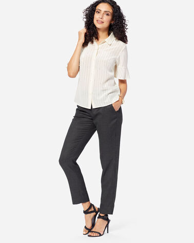 WOMEN'S CORBY WOOL PANTS IN BLACK