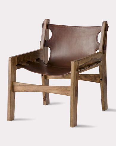 PAOLO CHAIR, BROWN, large