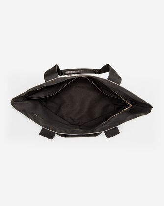 ADDITIONAL VIEW OF TUCSON CANOPY CANVAS TOTE IN BLACK/MULTI